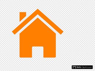 Simple Orange House