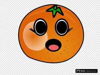 Talking Girl Orange