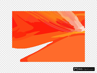 Wallpaper Orange Pink Lines Bubbles