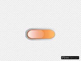Small Orange Button