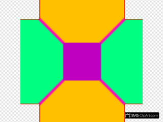 Square And Octagons 4 Pattern