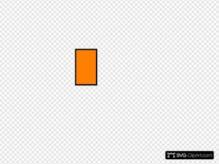 Orange Napkin