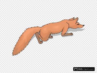 Crawling Fox