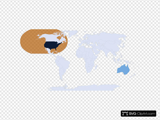 Usa/australia Orange