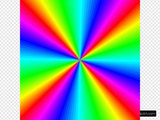 Rainbow Color Square