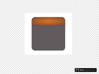 Orange Calendar Icon