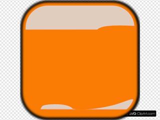 Dark Orange Locked Square Button