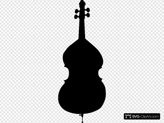 Cello Silhouette