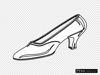 Woman S Shoe Outline