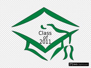 Class Of 2011 Graduation Cap