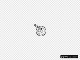 Planet With Spyglass