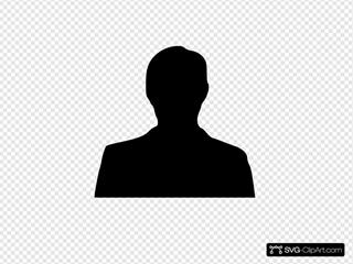 Man Silhouette Clipart