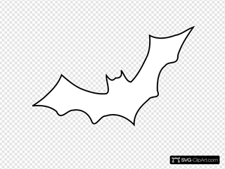 Outline Bat