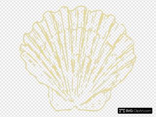 Scallop Shell Beige