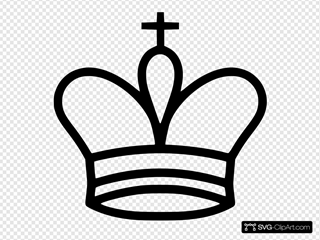 White King SVG icons