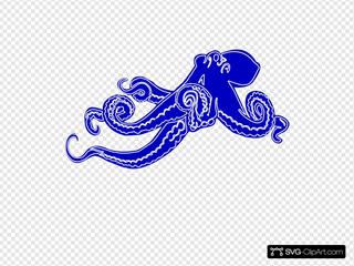 Blue Ocotopus