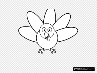 Free Turkey Feather Clipart Black And White, Download Free Clip Art, Free Clip  Art on Clipart Library