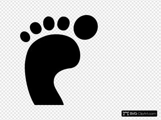 Footprint Left