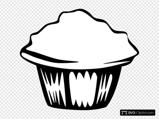 Generic Muffin (b And W)