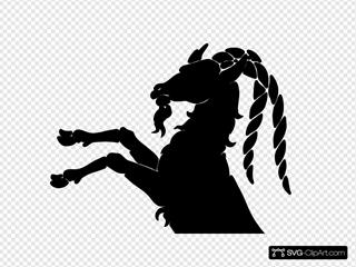 Goat Outline