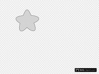 White Star Outline