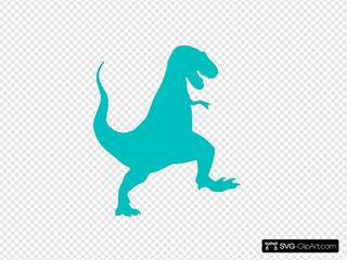 Trex SVG Clipart