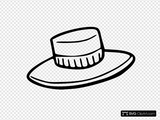 Hat Outline Clipart