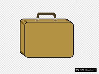 Little Tan Suitcase