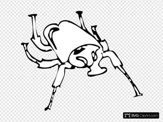 Beetle Outline