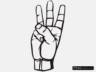 Sign Language W