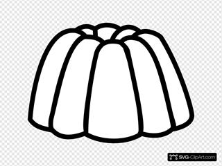 Jelly Jello Outline