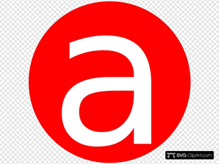 Red, Rounded, With A