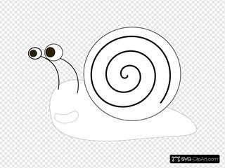 Snail Outline