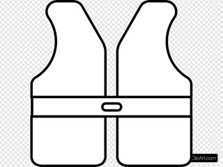 Life Vest Outline