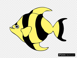 Striped Tropical Fish