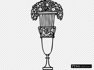 Roses Floral Ornament