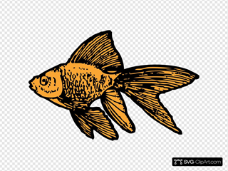 Goldfish SVG Cliparts