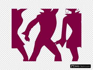 Dancing People By Markus