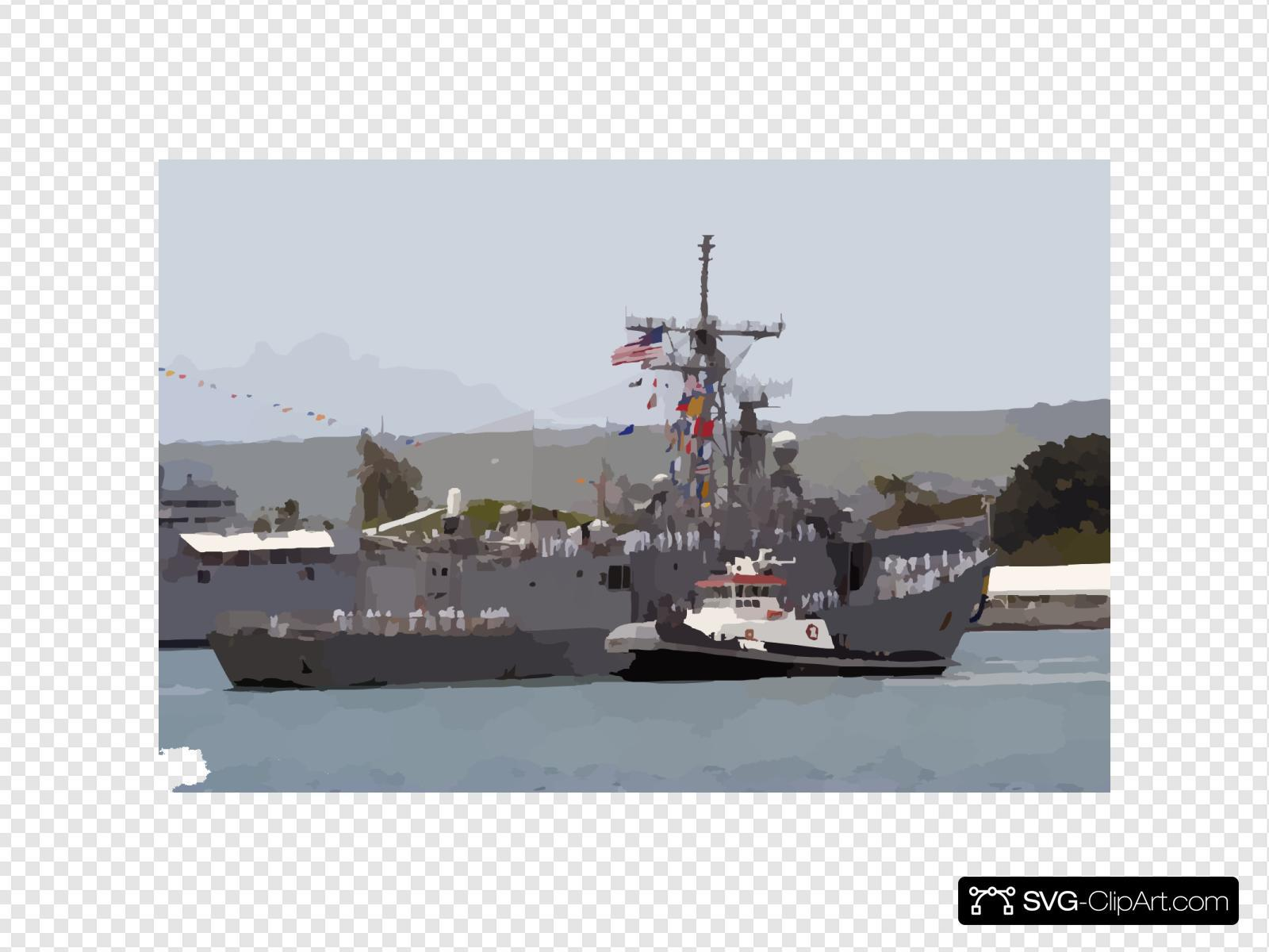 The Guided Missile Frigate Uss Reuben James (ffg 57) Returns To Her Homeport Pearl Harbor After A Deployment With The Uss Abraham Lincoln (cvn 72) Strike Force Spanning Nearly 10 Months