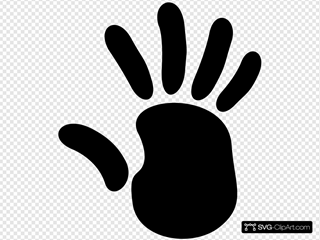 Right Hand Print