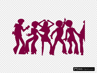 Dancing People By Md