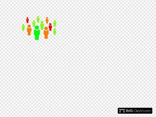 Team - Color SVG Clipart