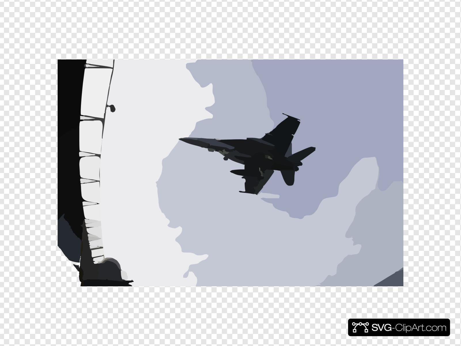 An F/a-18e Super Hornet Prepares To Make An Arrested Landing On The Flight Deck Of The Nuclear Powered Aircraft Carrier Uss Nimitz (cvn 68).