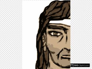 Barbarian Half Head