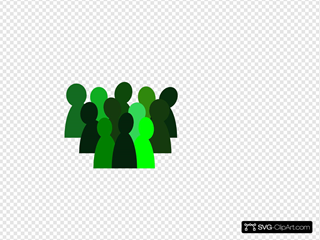 4% Green Crowd