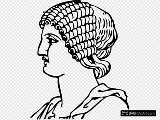 Grecian Hair Dressing