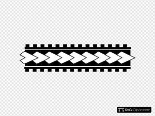 Samoa Tatoo Pattern 001