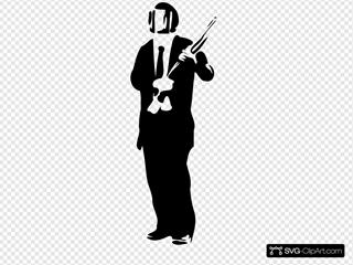 Suit In Riot Gear