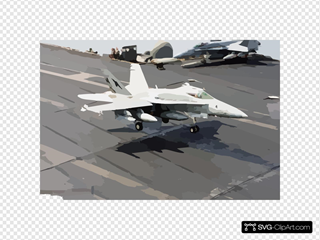 An F/a-18c Hornet Assigned To The