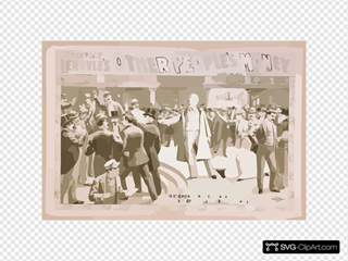 Hennessy Leroyle S Other People S Money From Hoyt S Theater, New York : By E.o. Towne.